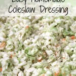 Basic Coleslaw Dressing Recipe