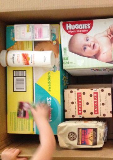 box of necessities