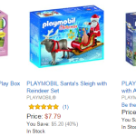 Amazon: 40% Off Playmobil – Sets from $7.79 Today Only