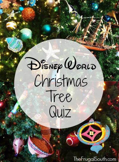 Take The Walt Disney World Christmas Tree Quiz The