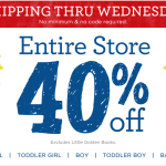 Gymboree: Entire Site 40% off + Free Shipping!