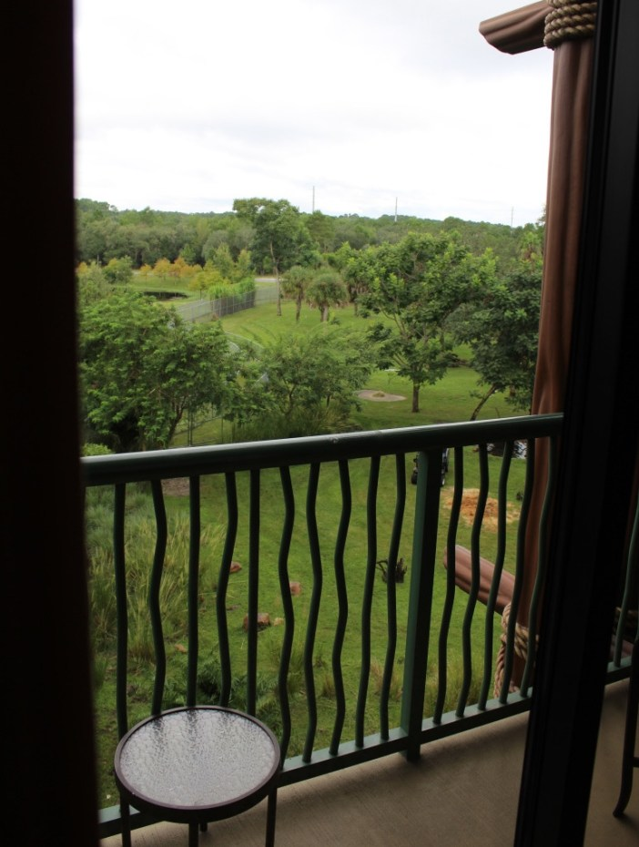 A Standard View Balcony