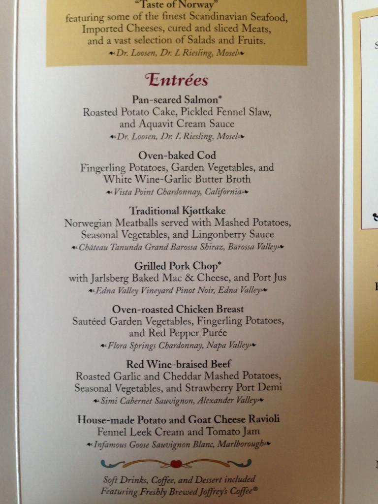 Akershus menu