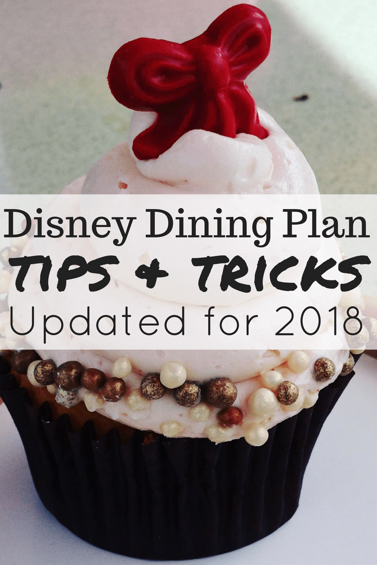 Tips and tricks for getting the most out of the dining plan at Walt Disney World! #disneyworld #familytravel