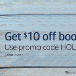 Amazon: $10 Off $25 Book Purchase!