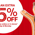 Target: Save an Extra 15% Off Everything! (Today and Tomorrow)