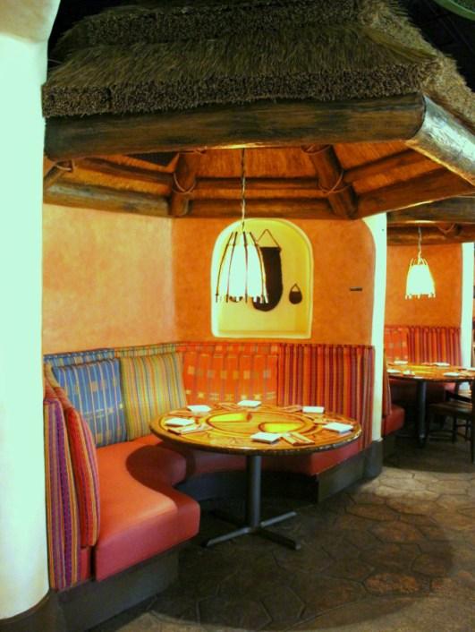 Sanaa, a table service restaurant at Animal Kingdom Lodge