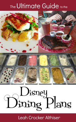 The Ultimate Guide to the Disney Dining Plans Pinterest Image