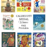 FREE Caldecott Medal Winners Printable Checklist