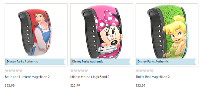 magic bands disney examples of custom bands from shopDisney