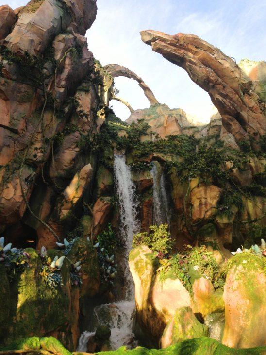 pandora waterfall