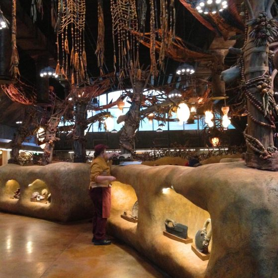 Inside of Satu'li Canteen in Pandora