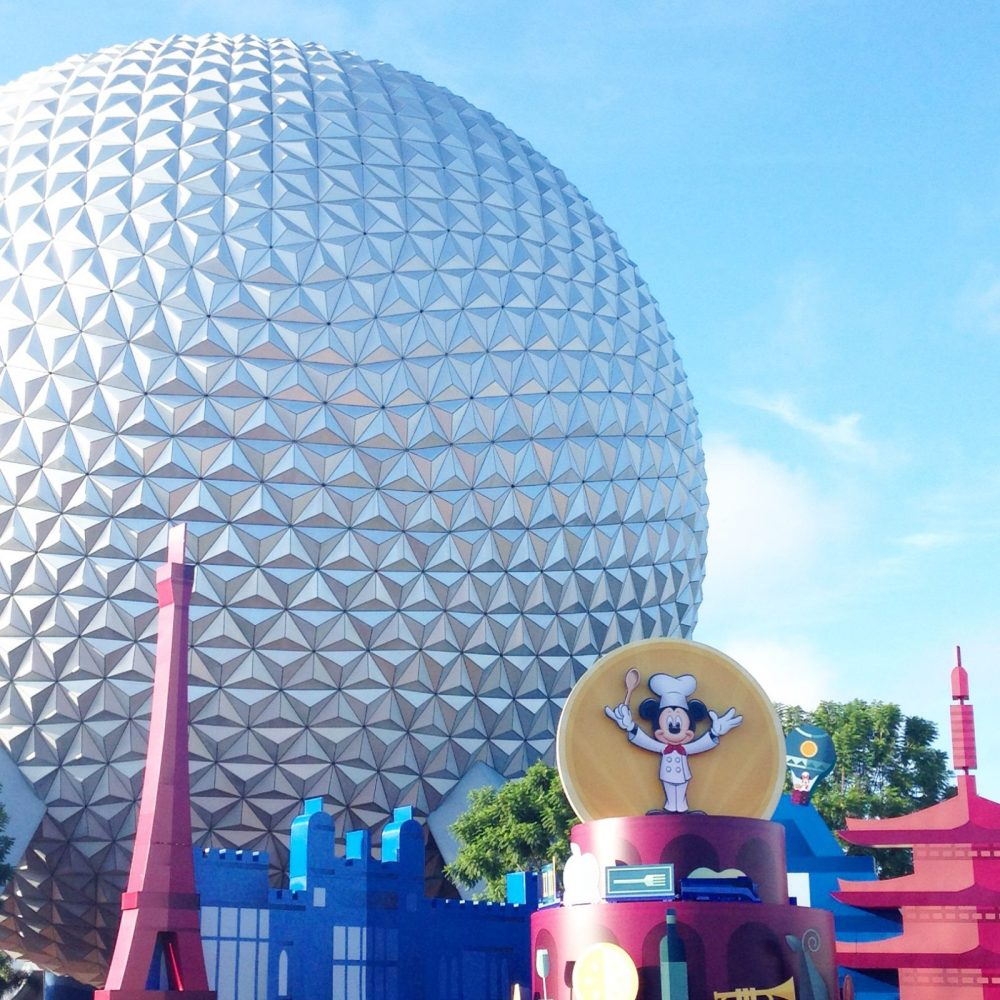 epcot during the food and wine festival
