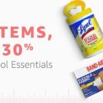 Amazon: Huge Savings on Lysol, Ziploc, Mrs. Meyer's, and more…