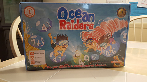 ocean raiders board game