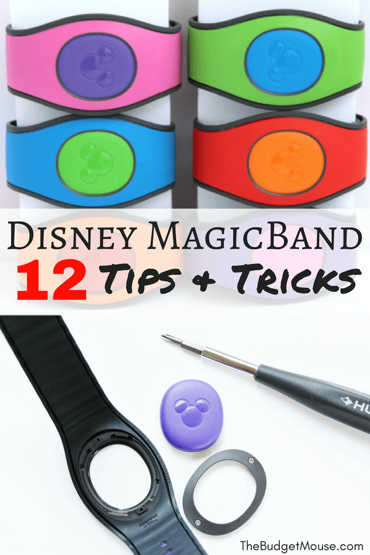 12 tips and tricks for using MagicBands at Disney World! How to have the best possible experience with Magic Bands on your Disney vacation. #disneyworldplanning #magicbands