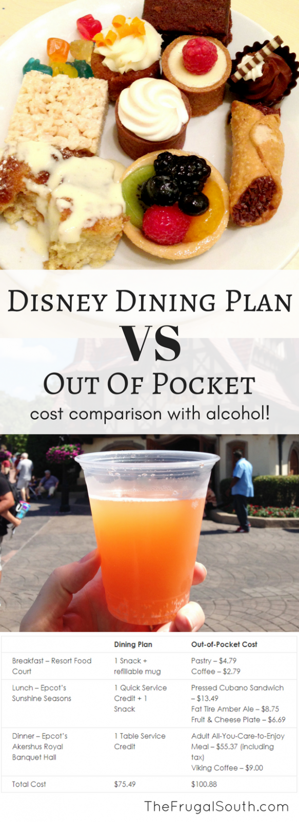 Will The New Disney Dining Plan With Alcohol Save You