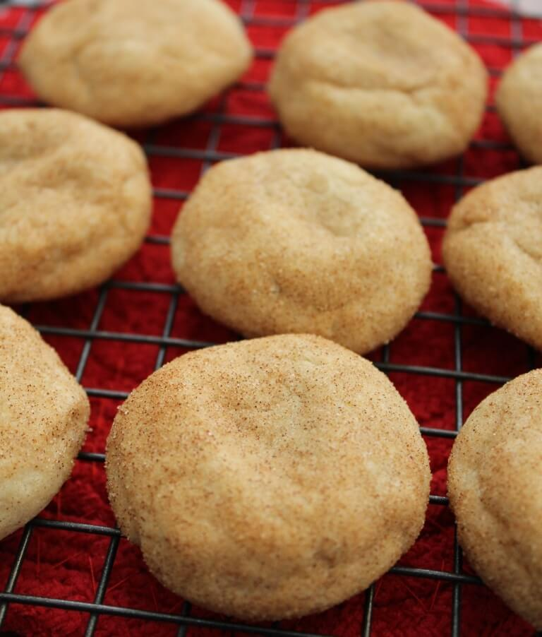 Easy Snickerdoodle Cookies Without Butter Recipe - The