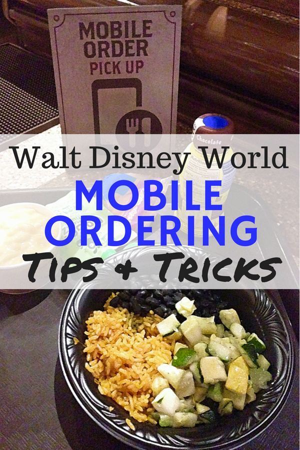 Tips and tricks for Mobile Order at Walt Disney World! How to have the best possible experience use mobile ordering to up your Disney dining game! #disneyworld