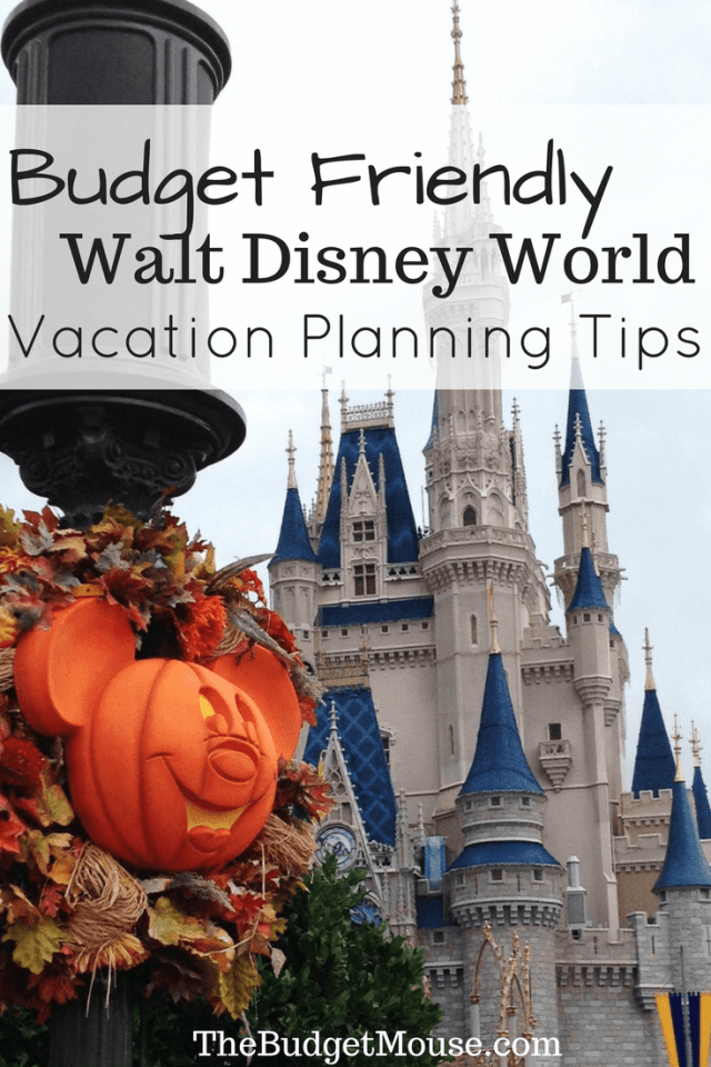 Disney world vacation planning tips for visiting on ANY budget! You can make a budget-friendly trip to Walt Disney World and I;ll show you how. #disneyworld #familytravel #budgettravel