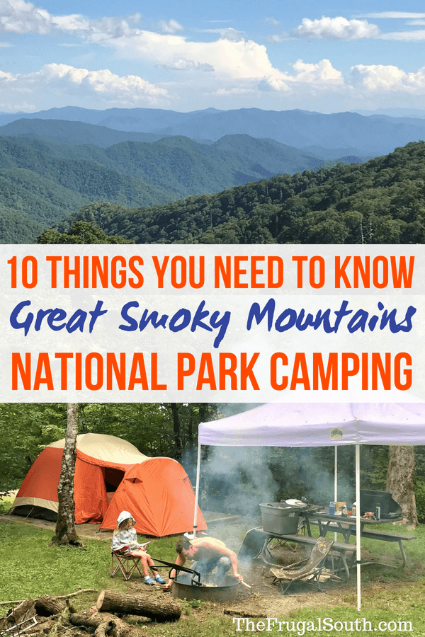 Everything you need to know about Great Smoky Mountains camping! A guide to camping in Great Smoky Mountains National Park - campgrounds, amenities, and more.