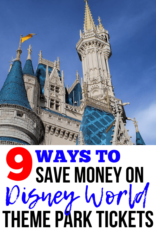 10 Tips & Tricks to Save Money on Disney World Tickets!