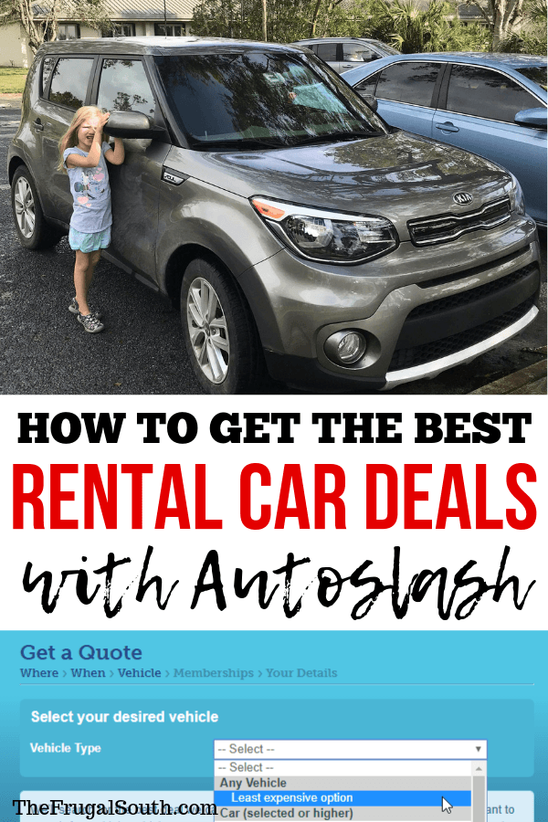 How To Use Autoslash For The Best Rental Car Deals