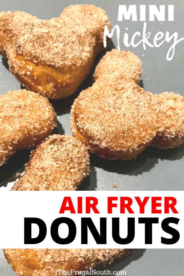 Mickey Air Fryer Biscuit Donuts Recipe
