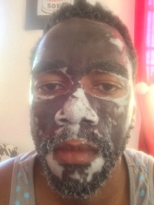 Dead Sea clay mask