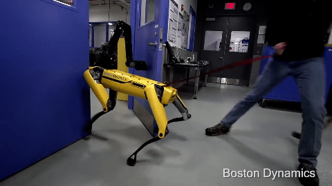 Boston Dynamics' SpotMini is Relentless