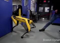 Boston Dynamics' SpotMini is Relentless