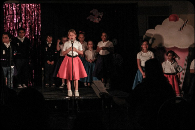 Madelyn sings her first solo in Rock and Roll Forever