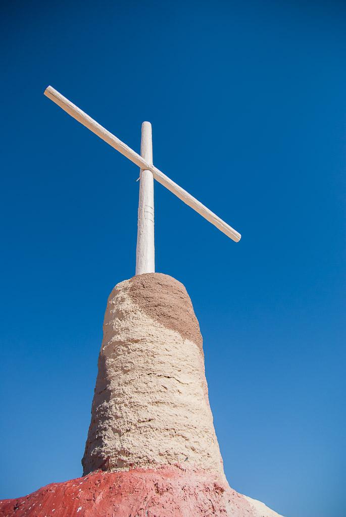 Salvation Mountain Cross