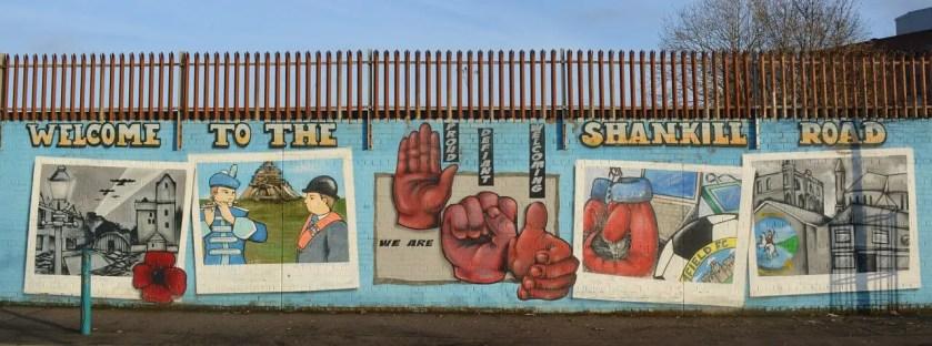 Shankill Road Mural in Belfast