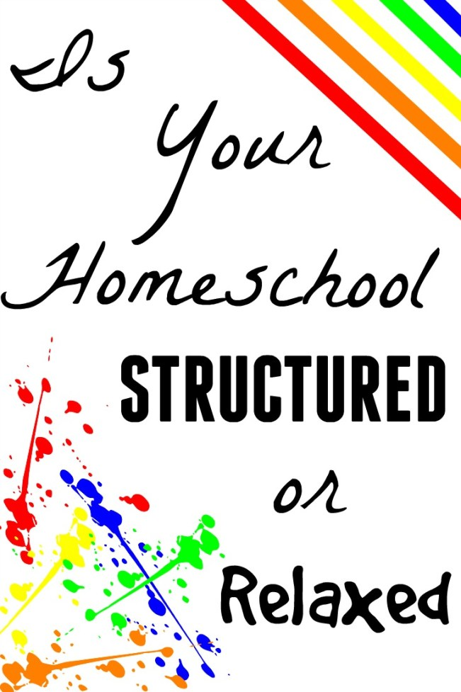 Is Your Homeschool Structured or Relaxed? Virtual Homeschool Co-op 2016-2017 Assignment 1, The Fundamental Home