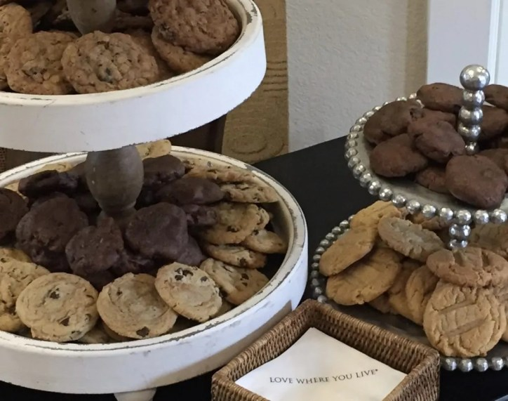 cookie trays go great with coffee carts - cookie-trays-go-great-with-coffee-carts - The Funky Brewster Coffee Catering
