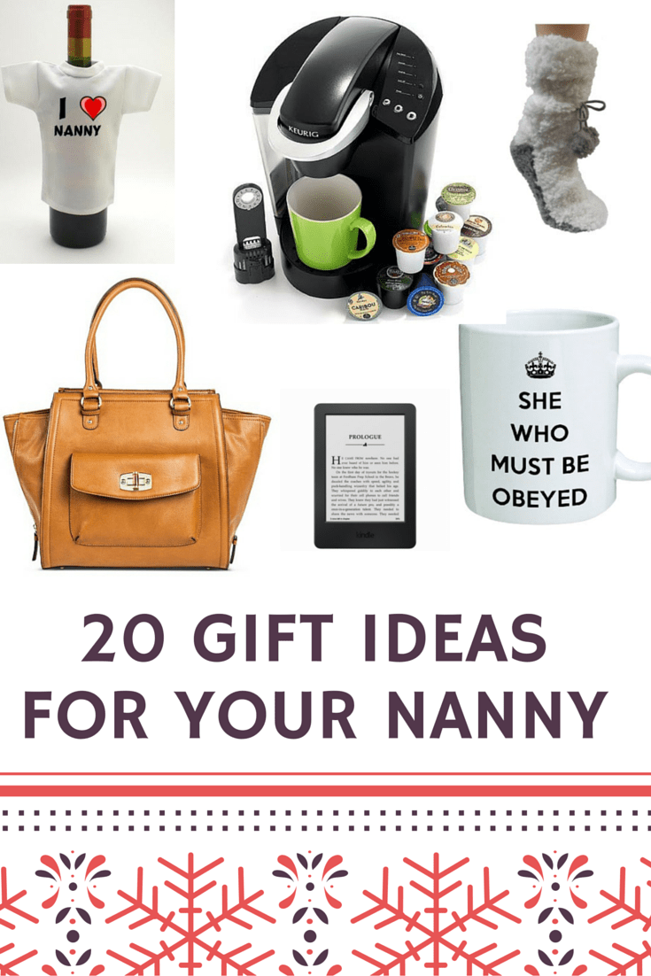20 Gift Ideas For Your Nanny