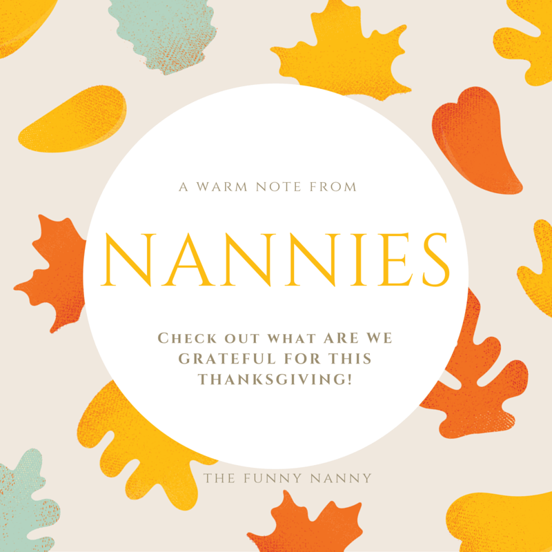 a warm note from nannies to families /nanny