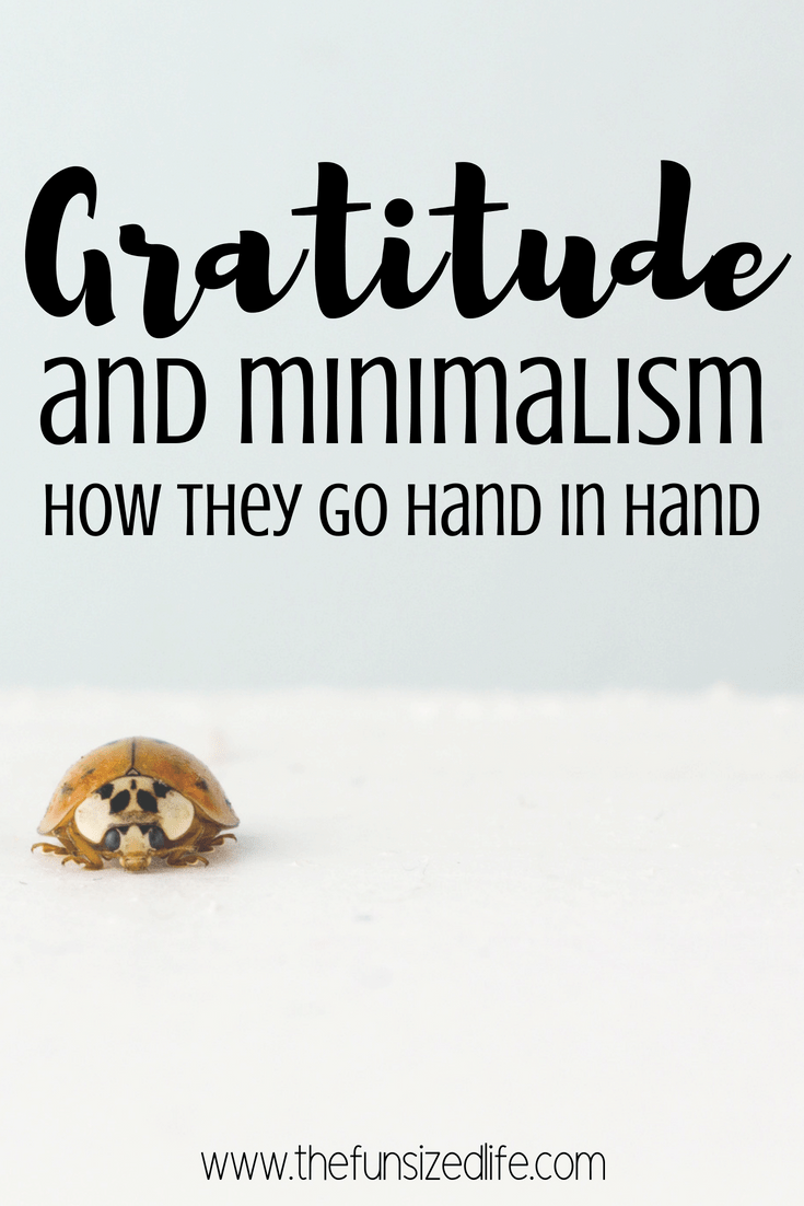 Check out the crazy link between gratitude and minimalism. How can you start practicing both? #gratitude #minimalism #minimalist #minimalistlifestyle
