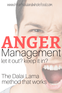 anger management embrace anger let go of anger how to handle stress how to handle anger