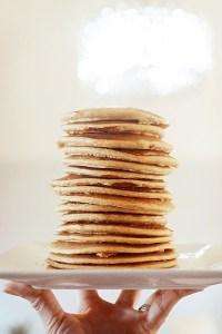 blender recipes, gluten free, low sugar, desserts, pancakes, dessert recipes, blender desserts
