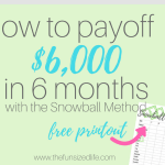 Debt Snowball Helped Us Pay off $6,000 of Debt in 6 Months