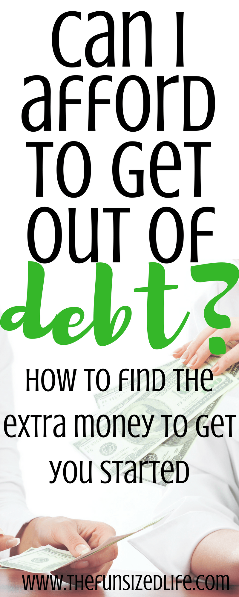 I never knew how in the world to find extra money! This lays it out plain and simple! #finances #getoutofdebt #debtpayoff #debtsnowball