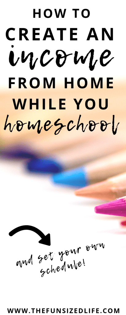 Have you ever wondered how you could make money while you homeschool? Use this practical guide to get ideas and get started! #makemoney #homeschool #workfromhome