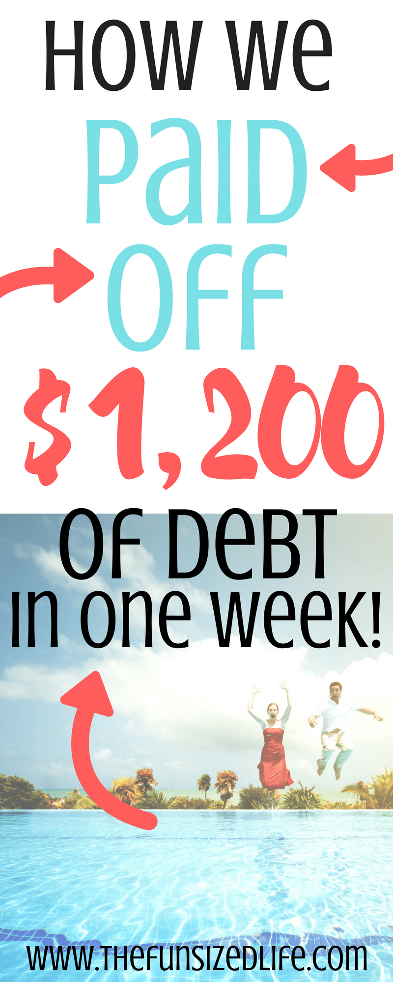 Paying off debt doesn't have to be that hard! We paid off over $1,200 in one week! See how we did it! #payoffdebt #debtpayoff #debtsnowball #debt #sidehustles #makemoney