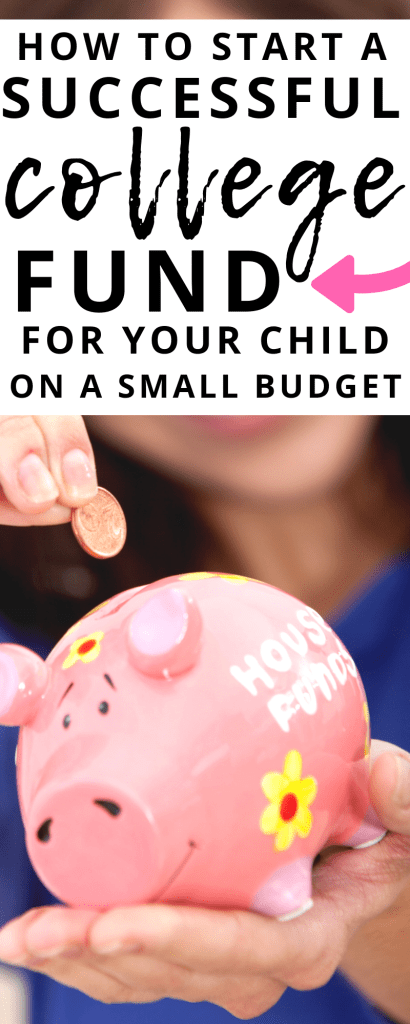 It's smart to plan ahead for your child's future. See how to easily start a college fund for your child on a small budget. Plus the best accounts to use.