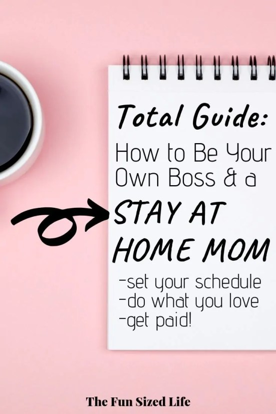 I have made thousands of dollars each month being my own boss as a stay at home mom. See the two jobs I've made for myself and how I made it work from home! #workfromhome #sahm #stayathomemom #beyourownboss #entrepreneur #mompreneur #makemoneyfromhome #makemoneyonline