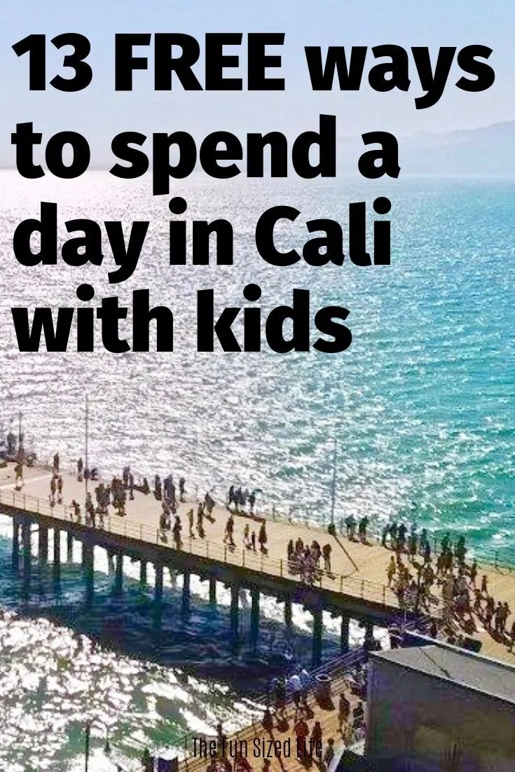 California can be expensive but it doesn't have to be. Check out top 13 free family things to do in Southern California no matter how old your kids are!