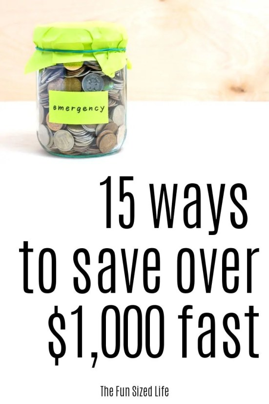 Looking to save $1,000 fast and build your emergency fund? It doesn't have to be hard. Use this complete guide to help you build an emergency fund fast.