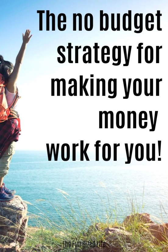 You want to make money work for you, but, you might actually be too close to the picture. Here is how to take a step back and plan your finances a new way.